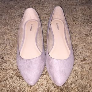 Old Navy Faux-Suede Ballet Flats